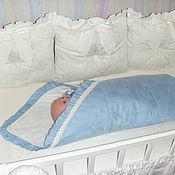 Работы для детей, handmade. Livemaster - original item Baby blanket. Handmade.