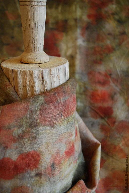 """Шарфы и шарфики ручной работы. Ярмарка Мастеров - ручная работа. Купить Шарф """"Ависага"""". Handmade. Абстрактный, натуральное окрашивание"""