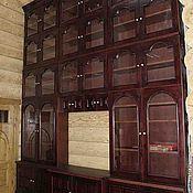 библиотека,сосна тонированная