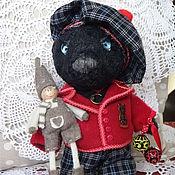 Куклы и игрушки ручной работы. Ярмарка Мастеров - ручная работа Медвежонок Серенька. Handmade.