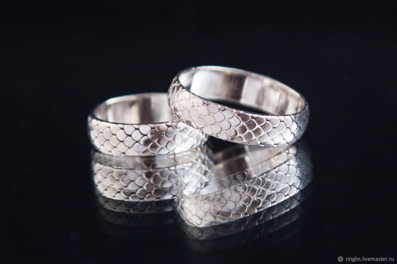 Кольца ручной работы. Ярмарка Мастеров - ручная работа. Купить Кольцо 'чешуя дракона' из серебра. Handmade. Кольцо, серебро