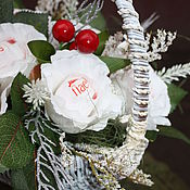 Цветы и флористика ручной работы. Ярмарка Мастеров - ручная работа Букет из конфет   ........букет из конфет Рафаэлло. Handmade.