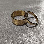 Кольца ручной работы. Ярмарка Мастеров - ручная работа Кольца из золотого титана. Handmade.