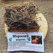 Материалы для творчества handmade. Livemaster - original item Maral root or Rhaponticum caroloina. Handmade.