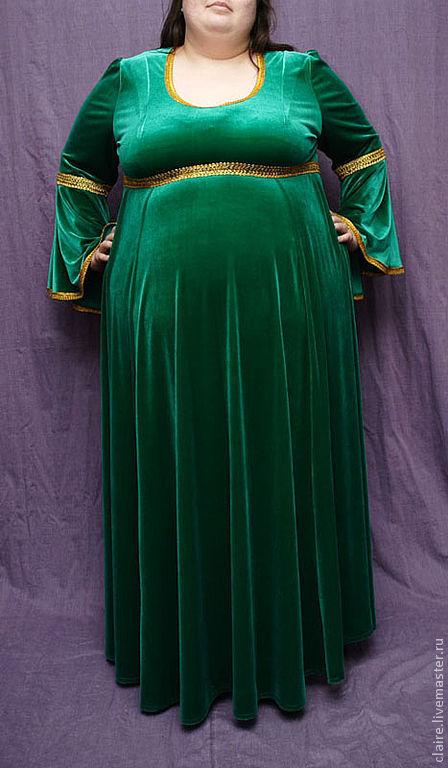 Изумрудные платья для полных