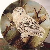 Винтаж ручной работы. Ярмарка Мастеров - ручная работа Коллекционная тарелка,Англия Coalport. Handmade.