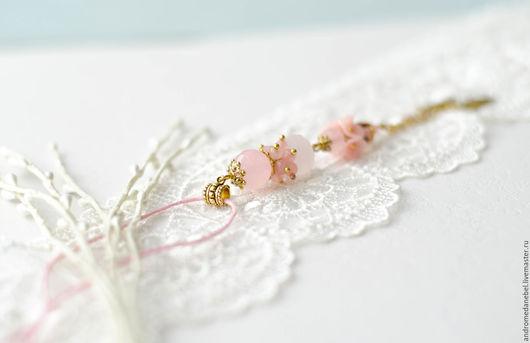 Кулоны, подвески ручной работы. Ярмарка Мастеров - ручная работа. Купить Кулон Розовый плен. Handmade. Розовый, цветочный