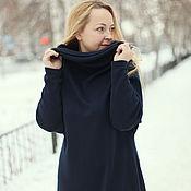 "Одежда handmade. Livemaster - original item Knitted dress ""oversize-3"". Handmade."