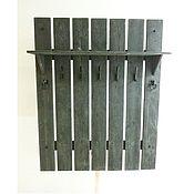Для дома и интерьера handmade. Livemaster - original item Clothes rack wall mounted with shelf