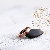 Кольца ручной работы. Ярмарка Мастеров - ручная работа Кольца на медную свадьбу. Handmade.