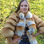 Одежда ручной работы. Ярмарка Мастеров - ручная работа Шуба из лисы. Handmade.
