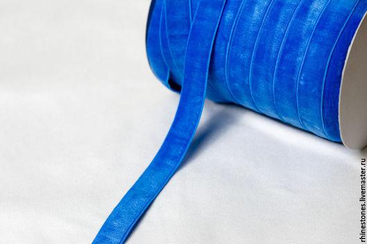 Другие виды рукоделия ручной работы. Ярмарка Мастеров - ручная работа. Купить Эластичная бархатная лента - резинка 321. Handmade.