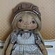 текстильная кукла кукла тыквоголовка коллекционная кукла интерьерная кукла кукла ручной работы кукла кукла в подарок  кукла для души тыковка тыквоголока кукла душевная кукла кукла для души текстиль