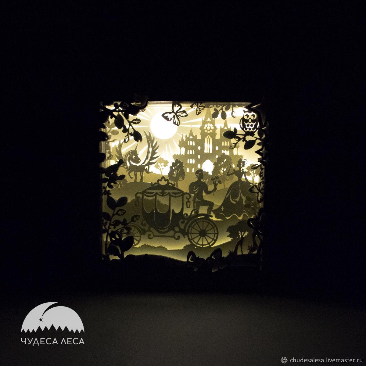 Lamp ' Kingdom', Nightlights, Lipetsk,  Фото №1