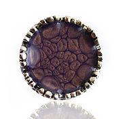 Украшения handmade. Livemaster - original item Round ring lilac-purple color. Handmade.