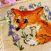 Для дома и интерьера handmade. Livemaster - original item Fox in bells. Handmade.