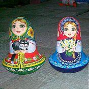 Русский стиль handmade. Livemaster - original item Dolls musical bell. Handmade.