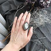 Украшения handmade. Livemaster - original item Copper ring with moonstone. Handmade.