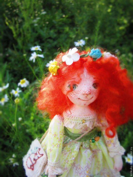 Коллекционные куклы ручной работы. Ярмарка Мастеров - ручная работа. Купить Лисхин:). Handmade. Рыжий, фея, лисенок
