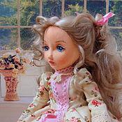 Куклы и игрушки ручной работы. Ярмарка Мастеров - ручная работа Амелия, текстильная коллекционная будуарная кукла. Handmade.