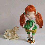 Куклы и игрушки handmade. Livemaster - original item Doll Ginger. Handmade.
