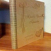 Свадебный салон ручной работы. Ярмарка Мастеров - ручная работа Подарочная коробка для свадебного альбома. Handmade.
