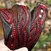 Ремни ручной работы. Ярмарка Мастеров - ручная работа Ремень кожаный ручной работы. Handmade.