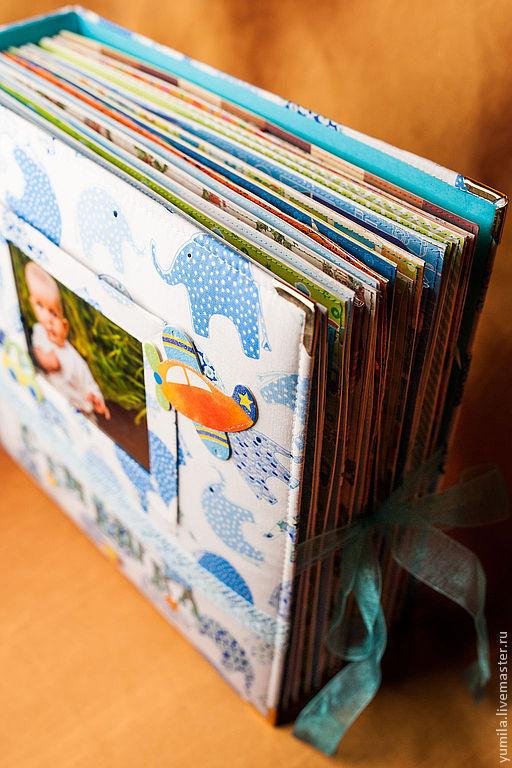 Фотоальбомы ручной работы. Ярмарка Мастеров - ручная работа. Купить Альбом для мальчика. Handmade. Фотоальбом, альбом для мальчика, фотоальбом в подарок