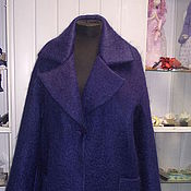 Coats handmade. Livemaster - original item Coat of mohair on the insulation. Handmade.