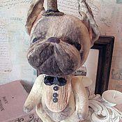 """Куклы и игрушки ручной работы. Ярмарка Мастеров - ручная работа Бульдог """"Лорд Оливье"""". Handmade."""