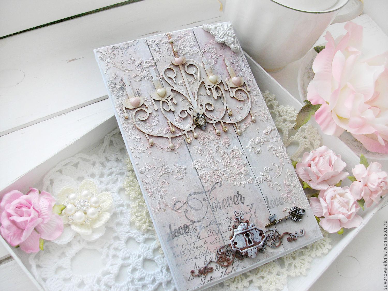Скрапбукинг открытка на 1 год свадьбы