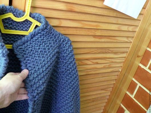 Вязание ручной работы. Ярмарка Мастеров - ручная работа. Купить Схема вязания кардигана платочной вязкой. Handmade. Розовый