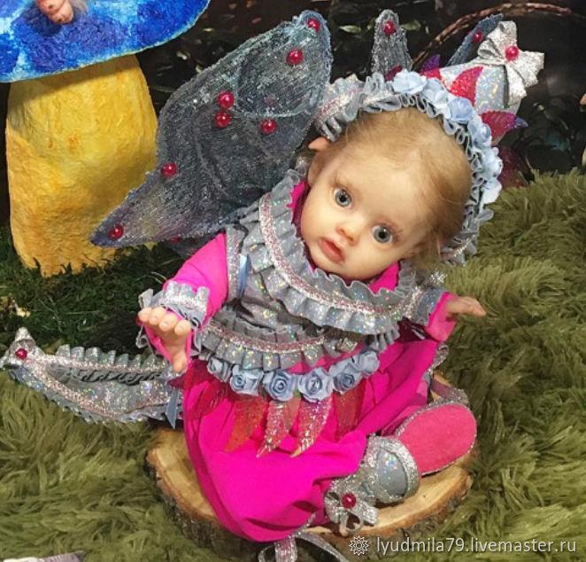 малышка Фло. Elf FLO by Natali Blick, Куклы Reborn, Москва,  Фото №1