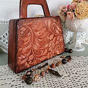 handmade. Livemaster - original item Wooden lace bag. Handmade.
