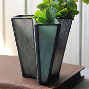 Для дома и интерьера handmade. Livemaster - original item Interior decorative vase. Stained Glass Tiffany. Handmade.