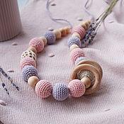 Одежда handmade. Livemaster - original item Slingobusy with the slices of peach with silver. Handmade.