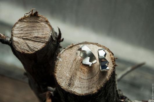 Кольца ручной работы. Ярмарка Мастеров - ручная работа. Купить Серебряное кольцо - горная корона. Handmade. Серебряный, необычное кольцо