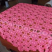 Для дома и интерьера ручной работы. Ярмарка Мастеров - ручная работа Скатерть коралловая 160см. Handmade.