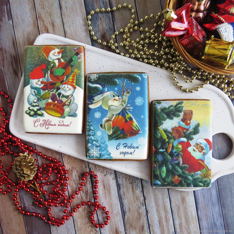 Приколы картинках, пряничная открытка на новый год 2019