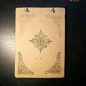 Канцелярские товары ручной работы. Ярмарка Мастеров - ручная работа Блокнот для быстрых мыслей. Handmade.