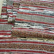 Для дома и интерьера ручной работы. Ярмарка Мастеров - ручная работа Половик ручного ткачества (№ 143). Handmade.
