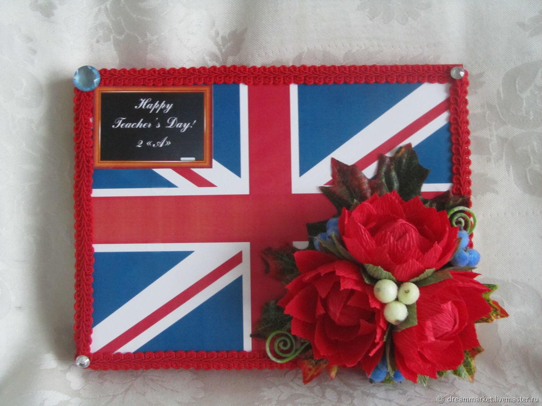 Днем рождения, открытки для учителя английского языка своими руками