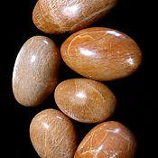 Материалы для творчества handmade. Livemaster - original item Sun stone( microcline)is a major tumbling (Madagascar). Handmade.