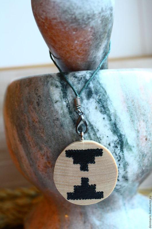 Обереги, талисманы, амулеты ручной работы. Ярмарка Мастеров - ручная работа. Купить Брелок-оберег с символом энергетической защиты. Handmade.