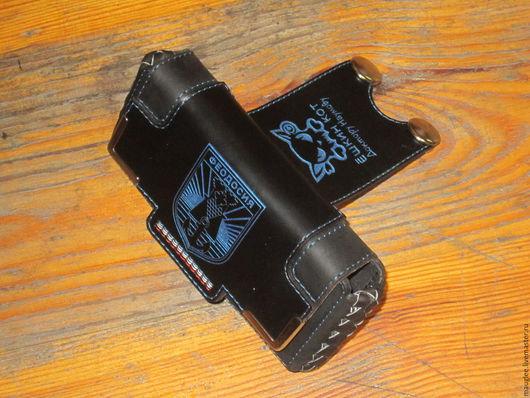 Для телефонов ручной работы. Ярмарка Мастеров - ручная работа. Купить Кобура для телефона. В подарок. Handmade. Рисунок