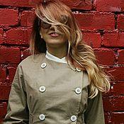 Одежда ручной работы. Ярмарка Мастеров - ручная работа Летнее двубортное пальто. Handmade.