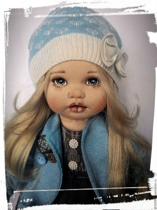 Коллекционные куклы ручной работы. Ярмарка Мастеров - ручная работа. Купить Кукла текстильная. Handmade. Комбинированный, трикотаж