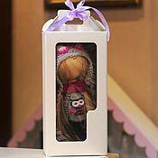 Коробки ручной работы. Ярмарка Мастеров - ручная работа Коробки: Коробка для кукол белая 30/12/15. Handmade.