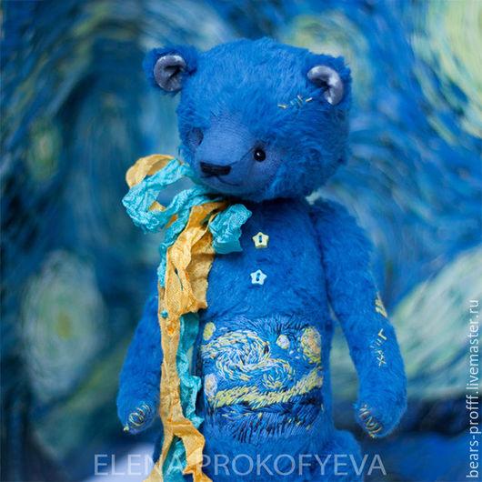 Мишки Тедди ручной работы. Ярмарка Мастеров - ручная работа. Купить Малыш Vincent Винсент Ван Гог. Handmade.