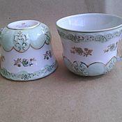 Винтаж handmade. Livemaster - original item 1958 g. Tea cups. Dulyovo.. Handmade.